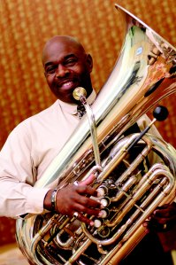 James Jenkins, concert tubist with the Jacksonville Symphony Orchestra