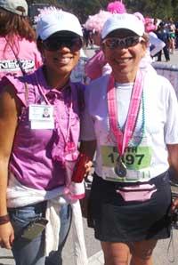 Whitney Len & Dr. Edith Perez